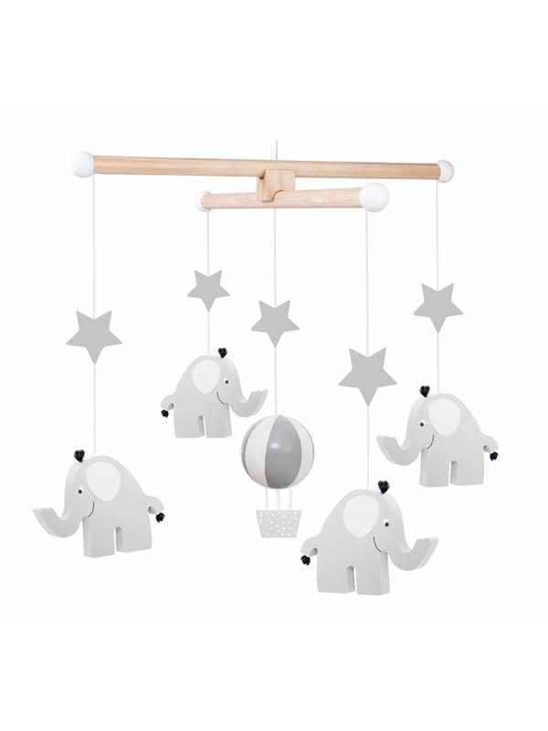 Jabadabado Trä Mobil Elefant