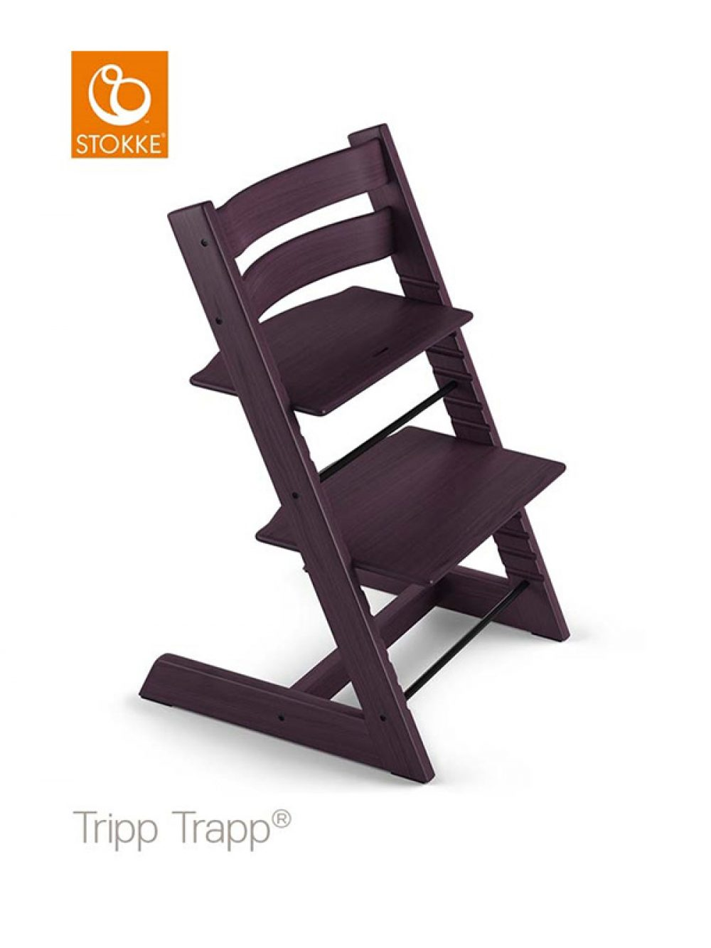 Stokke Tripp Trapp High Chair with Baby Set Plum Purple